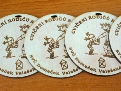 Dřevěné  medaile