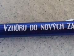 Kuličkové pero s textem na přání